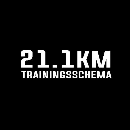 Trainingsschema 21.1km