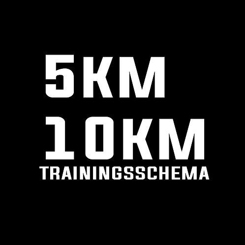 Trainingsschema 5-10km