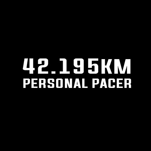 Personal pacer 42.195km