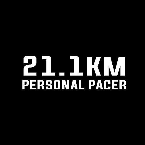 Personal pacer 21.1km