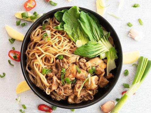 Sesame Noodles With Mushroom
