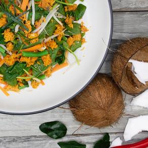 Sundanese Spiced Vegetable Salad (Urab)