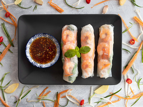 Vietnamese Summer Rolls (3 pieces)