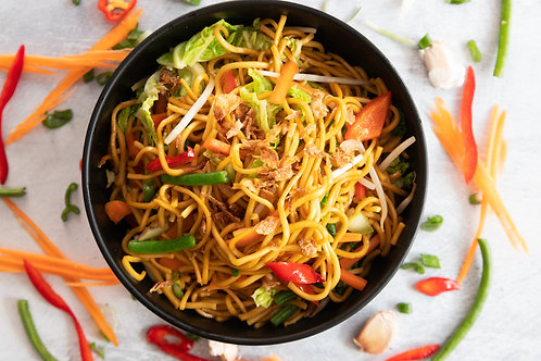 Indonesian Vegetable Noodles (Mie Goreng Sayur)