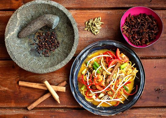 Spiced Lamb Noodles (Mie Aceh)