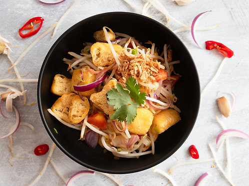Stir Fried Tofu & Beansprouts