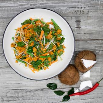 Sundanese Spiced Coconut Salad
