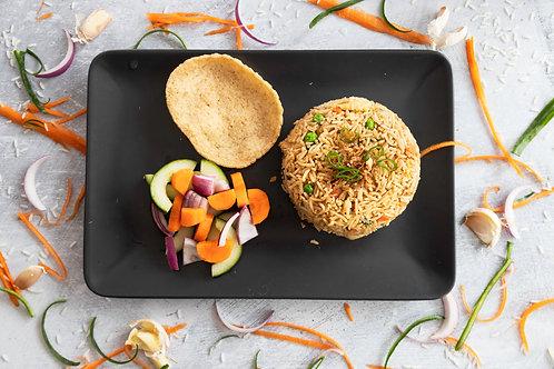 Indonesian Vegetable Fried Rice (Nasi Goreng Sayur)
