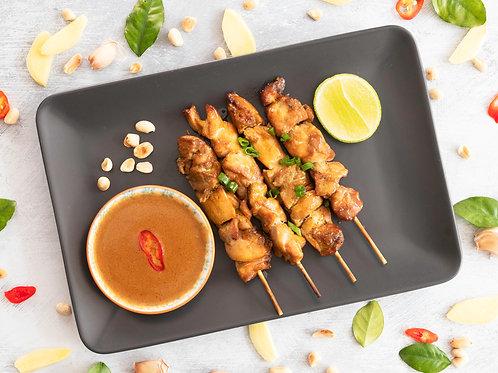 Chicken Satay (4 skewers)