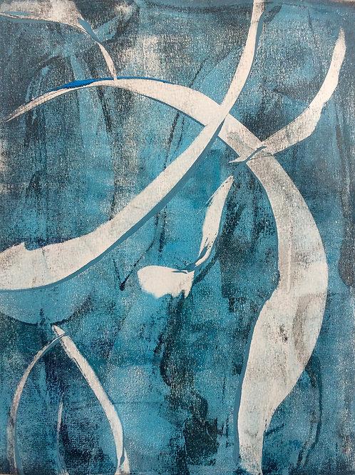 """""""Under Water I"""" 20 x 30 cm - solgt"""