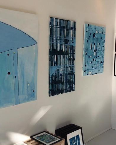 Et sommerkig rundt i galleriet