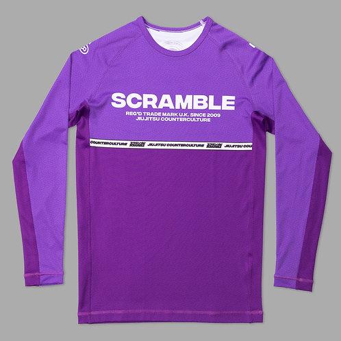SCRAMBLE RANKED RASHGUARD V4 - PURPLE