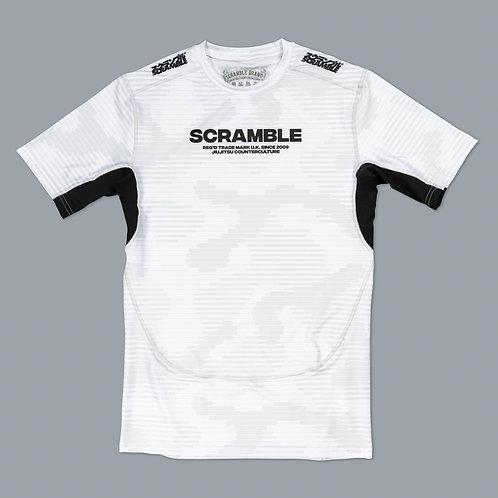 SCRAMBLE TACTIC RASHGAURD - WHITE