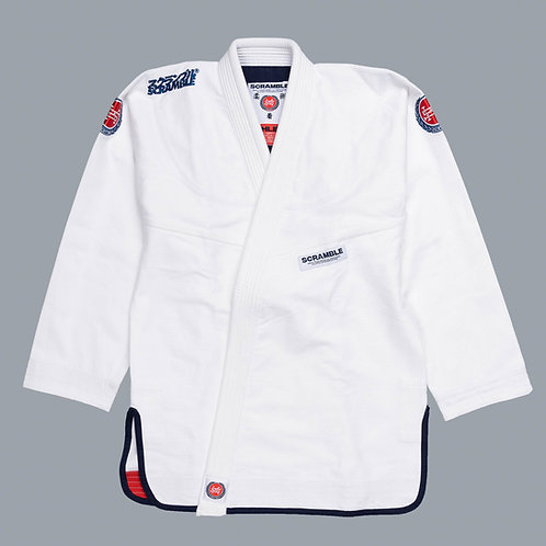 SCRAMBLE ATHLETE V GI - WHITE