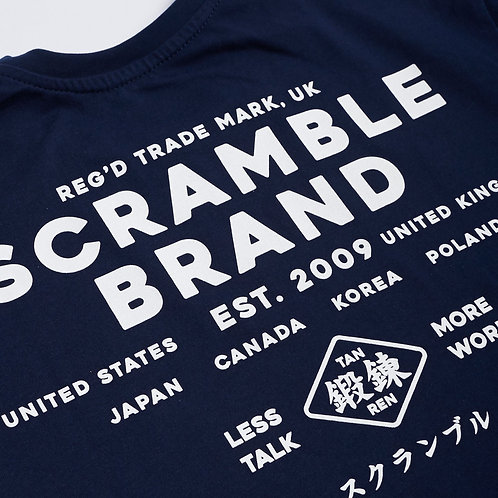 SCRAMBLE MORE WORK TEE