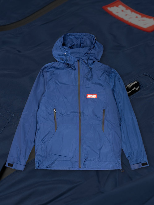 SCRAMBLE TENJIN RAIN JACKET - BLUE