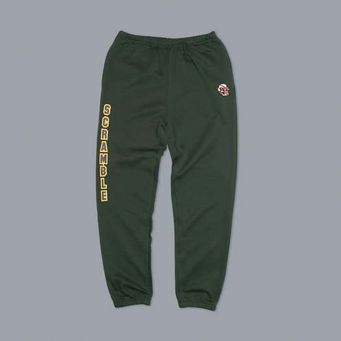 Scramble Collegiate Wrestling Sweatpants - Sporting Green