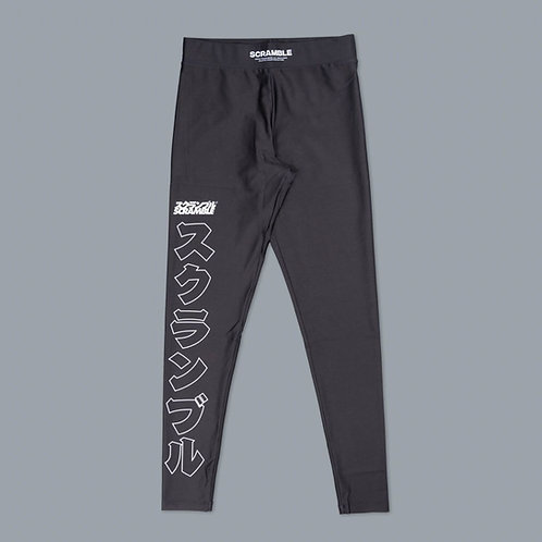 SCRAMBLE BASE SPATS - BLACK