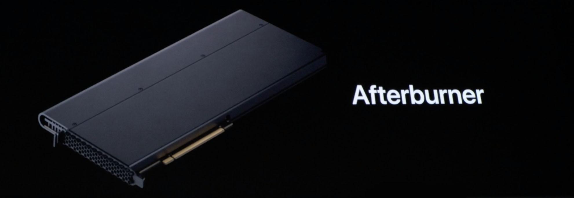 Afterburner Mac Pro