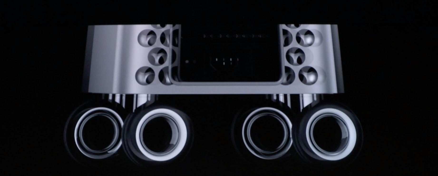 roulettes Mac Pro