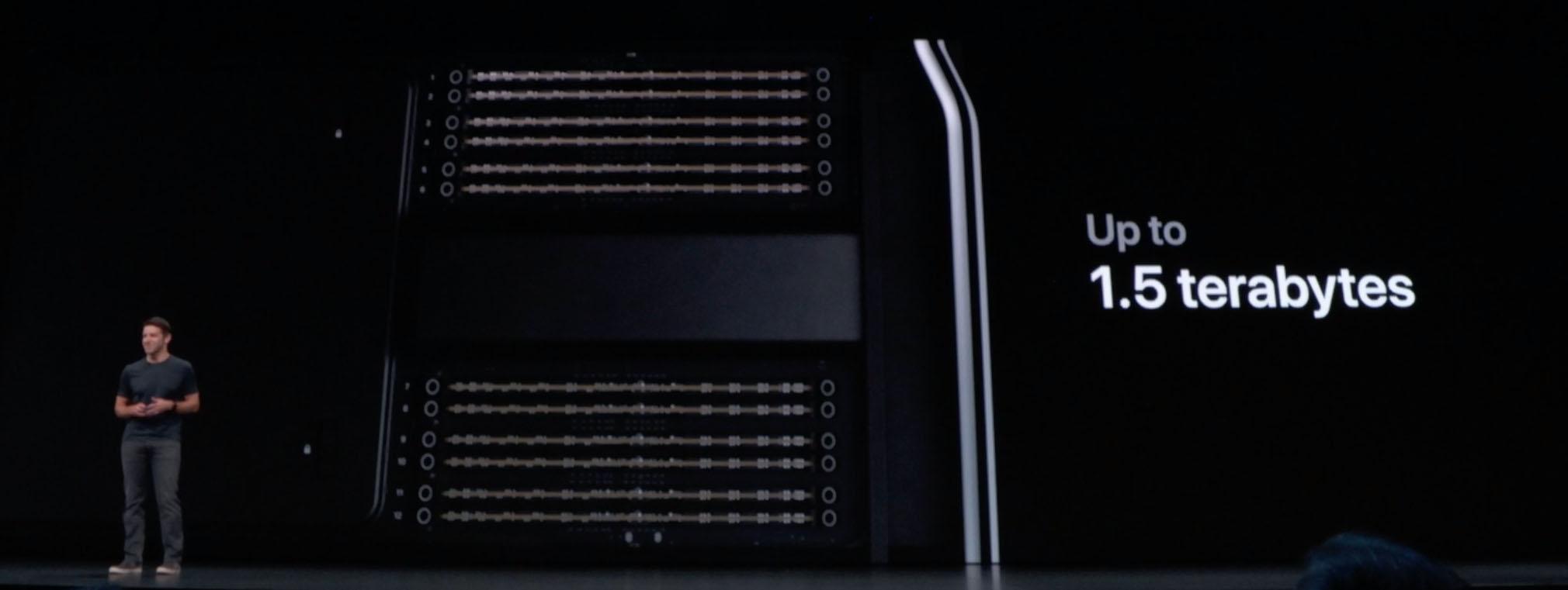 RAM du Mac Pro
