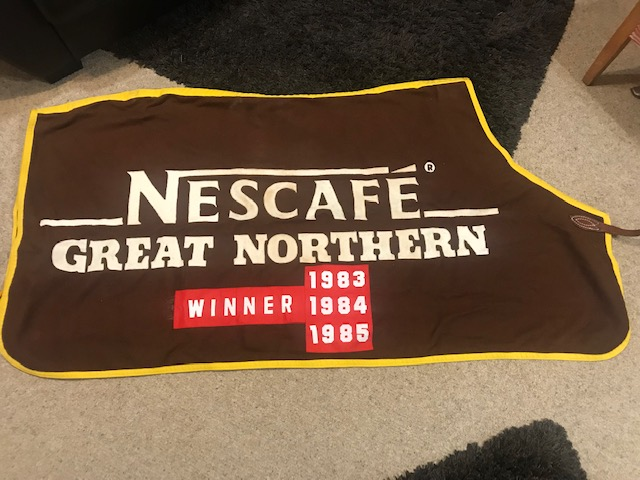 Hunterville's Great Northern saddlecloth