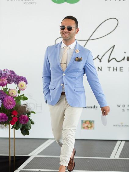 Mens racing fashion Auckland Cup Week El