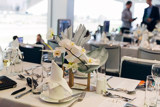 Our premium indoor dining lounge, Silks is a great spot to enjoy the races from