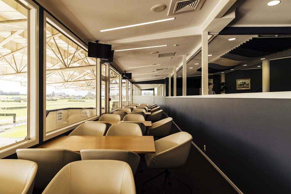 The Takanini Room's indoor tiered seating makes for a great break out space during a business event