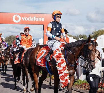 Vodafone major sponsor at Auckland Racin