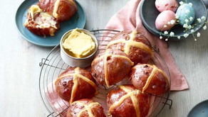 RECIPE: Chef's Chocolate and Peanut Butter Hot Cross Buns