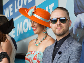 Raceday fashion for men by style insider, Murray Bevan