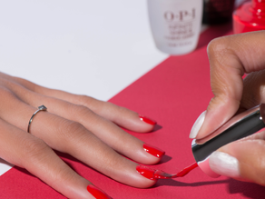 Raceday nail tips from The Art of Nails & OPI
