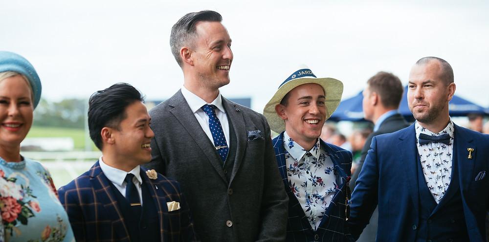 Best dressed men Melbourne Cup Ellerslie