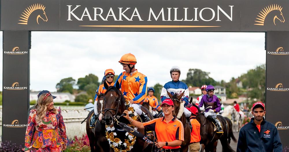 2021's DoubleTree by Hilton Karaka Million 2YO winners, Johnathan Parkes & On The Bubbles return to scale