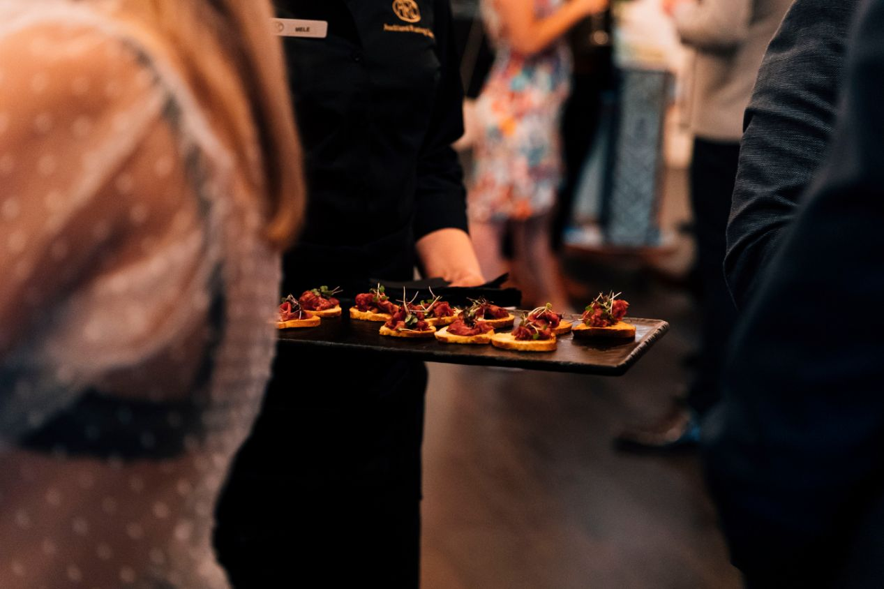 More of those delicious canapés our kitchen team seems to whip up so effortlessly