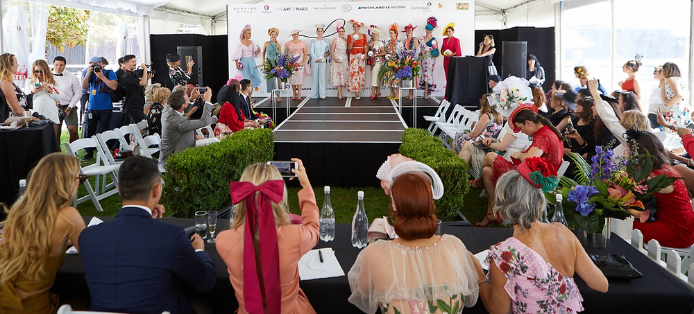 Hawaiian Airlines Fashions in the Field at Ellerslie