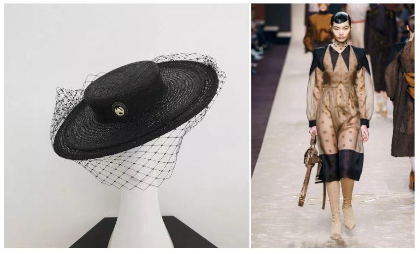 Headwear: Jill & Jack , Dress Prada
