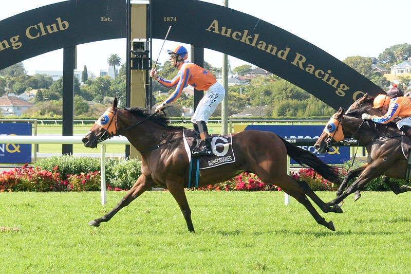 Ellerslie Performance of the Year 2020/21 winner - Melody Belle for her win in the Bonecrusher NZ Stakes