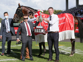 Rocket Spade wins thrilling Vodafone New Zealand Derby