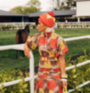 Racewear fashion on Vodafone Derby Day a