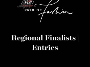 FASHION | Entries from our 2021 Regional Finalists of The Ned Prix de Fashion