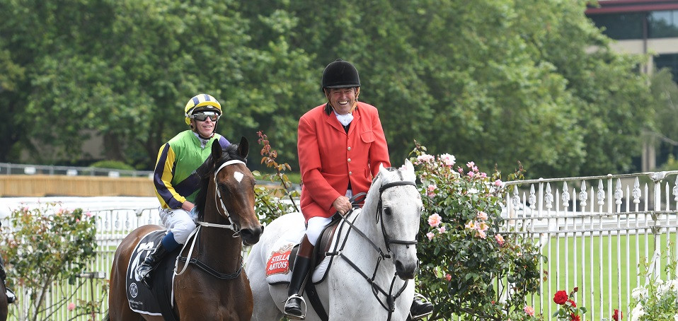 Ross escorting yet another race winner back to scale