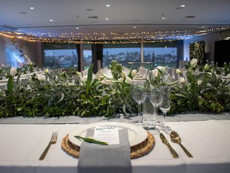 A wedding set-up for a princess
