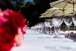 With numerous outdoor spaces, we can accomodate all sorts of event types - including long lunches