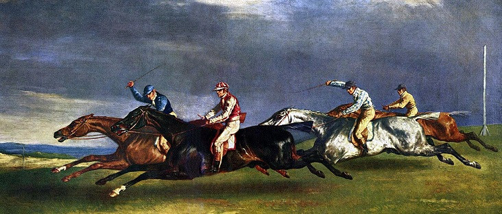 The Derby at Epsom, 1821 | Image c/- Wikipedia