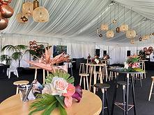 champagne lawn, private marquee, venue i