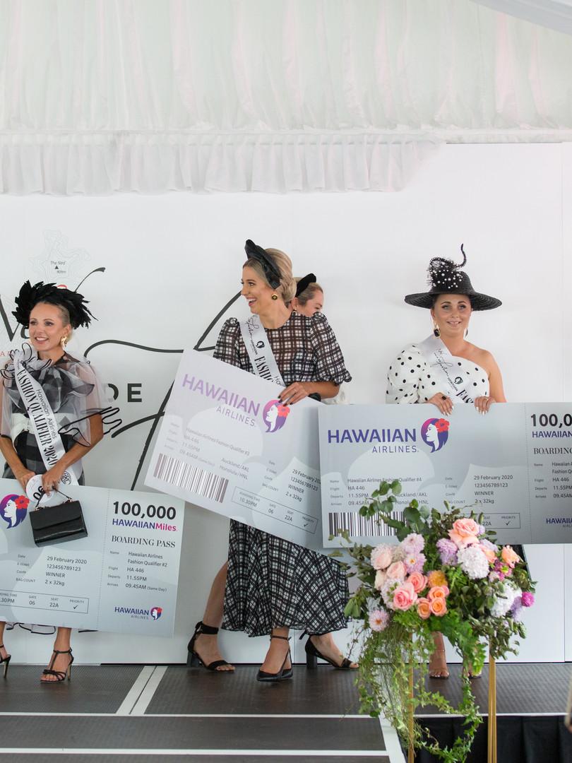 Hawaiian Airlines Fashion Qualifier Winners
