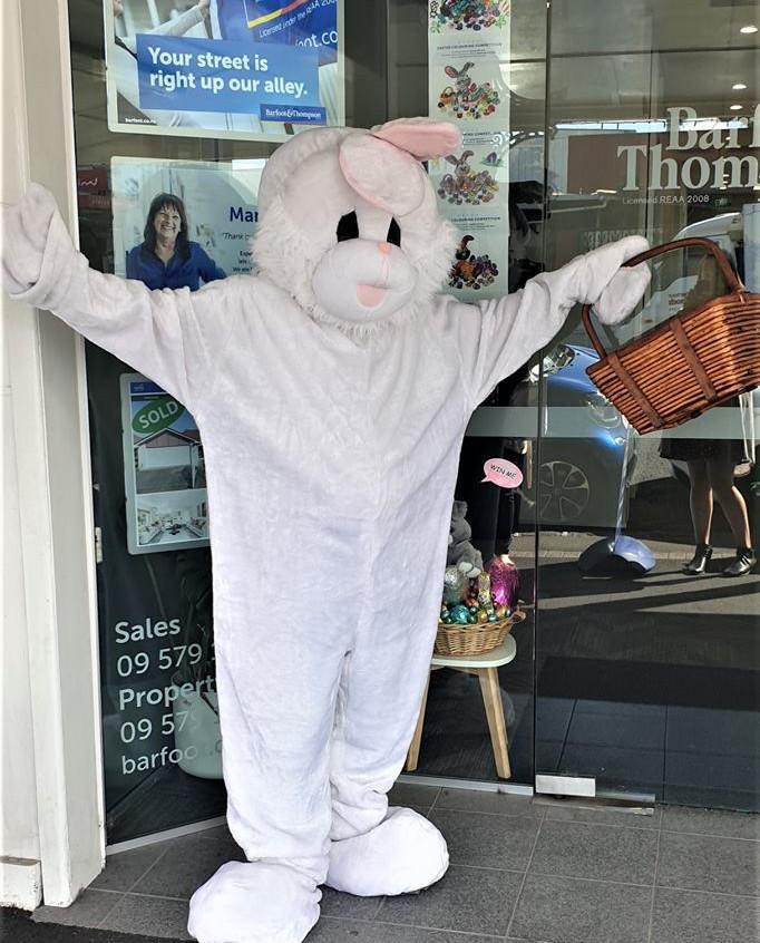 Ellerslie Event Centre Easter Bunny