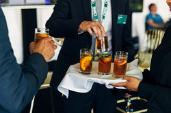 Did someone say Pimm's?  Recently served at a corporate function here, we can always add a welcome c